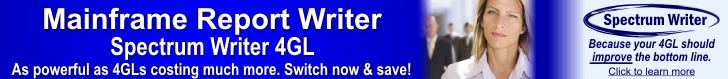 Save Money Year After Year, with Spectrum Writer 4GL.