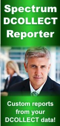 Spectrum DCOLLECT Reporter - the 4GL DCOLLECT Report Writer.