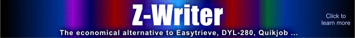 Spectrum Writer 4GL - the economical alternative to SAS, Easytrieve, DYL-280...