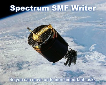 Spectrum SMF Writer - the 4GL SMF Report Writer.